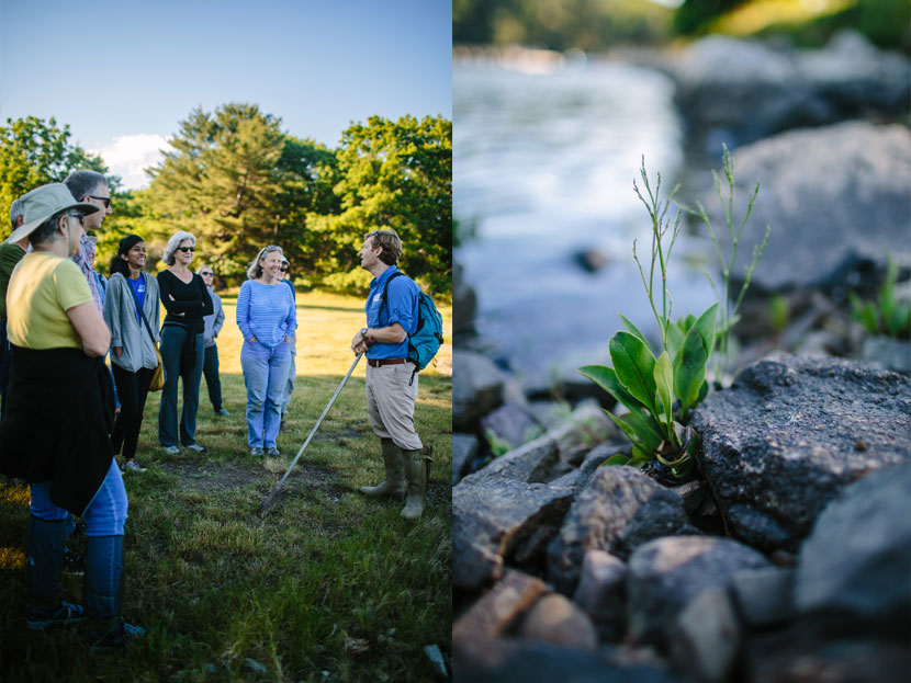 It's easy to see Dr. Gregg Moore's passion for botany when he speaks
