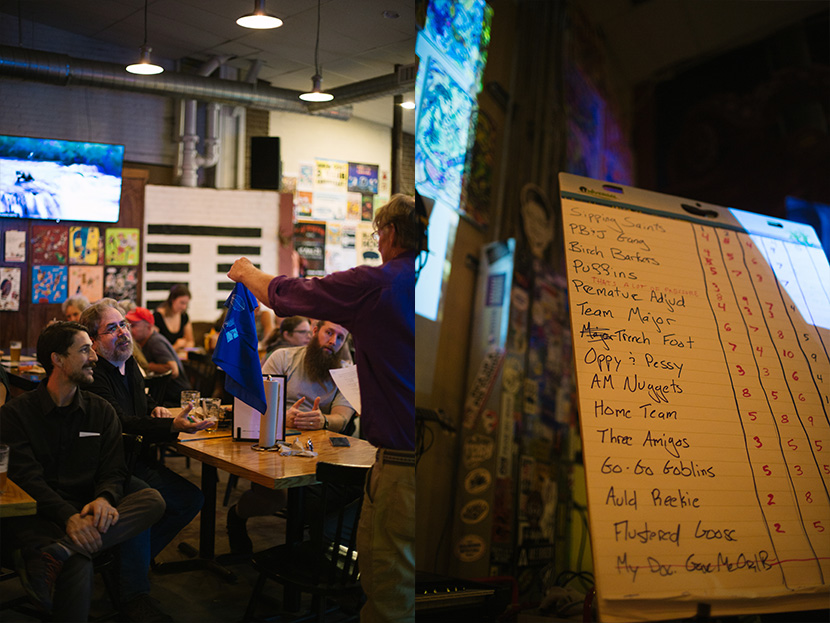 Concord area trail and trivia enthusiasts competed for prizes and enjoyed cold beverages and great eats at Area 23 in Concord