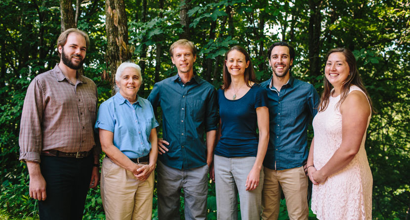 Easement Stewardship Department at the Forest Society