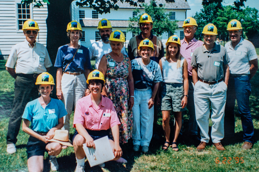 The first class of volunteer Land Stewards in the mid-1990s