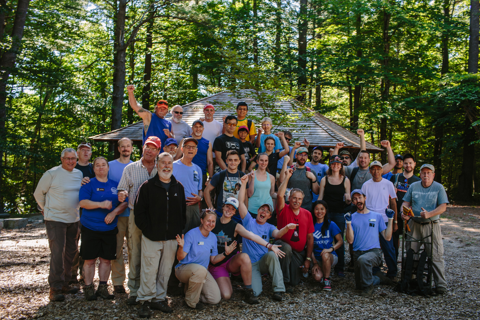 The kick-off to Monadnock Trails Week