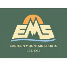The logo of EMS features a mountain and green background.