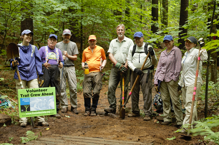 volunteer, trailwork, conservation, stewardship, trails, monadnock, trailcrew, trail crew,