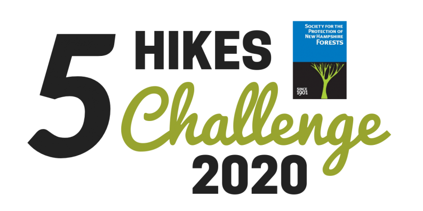 Five Hikes Challenge logo