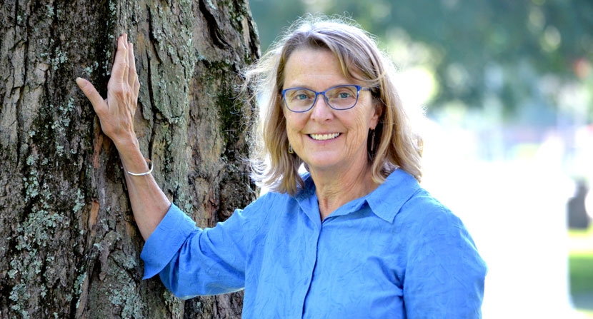 Forest Society President/Forester Jane Difley.