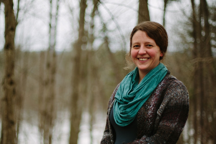 Jess Charpentier, Land Protection Specialist with the Society for the Protection of NH Forests