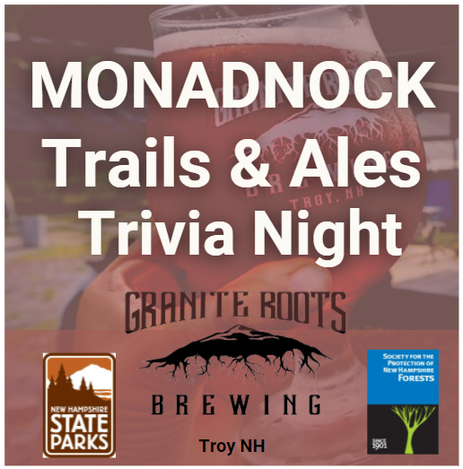 A flyer for Trails & Ales event at Granite Roots Brewing.
