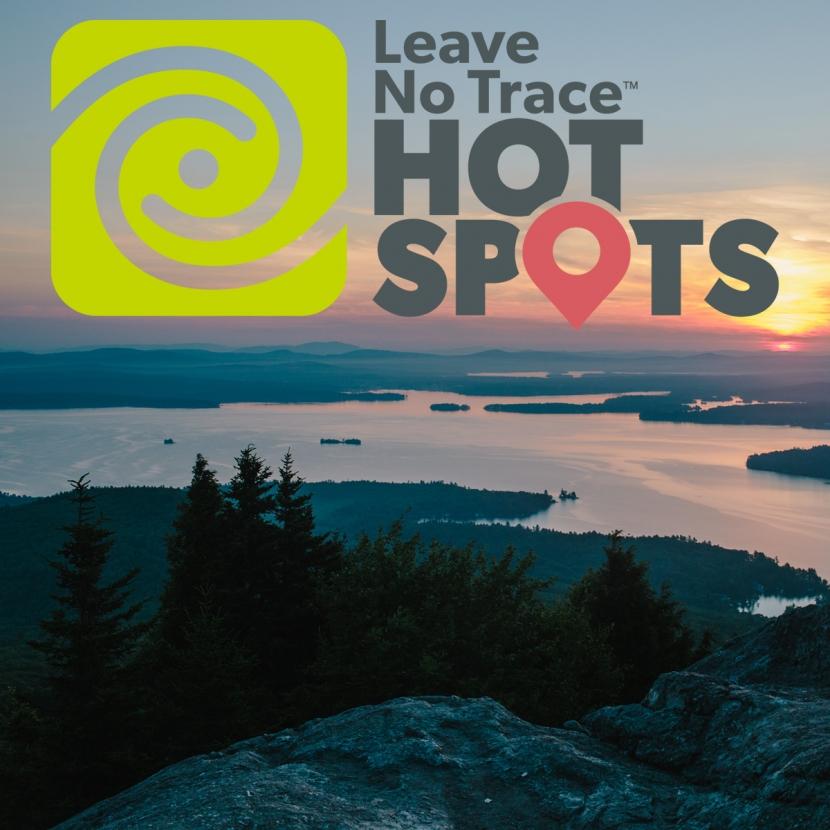 Leave No Trace Hot Spot Mount Major