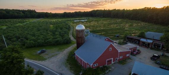 Sullivan Farm in Nashua New Hampshire by Jerry Monkman