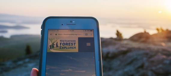 Forest Explorer is a one-stop-shop for enhanced trail and information maps at select Forest Society reservations