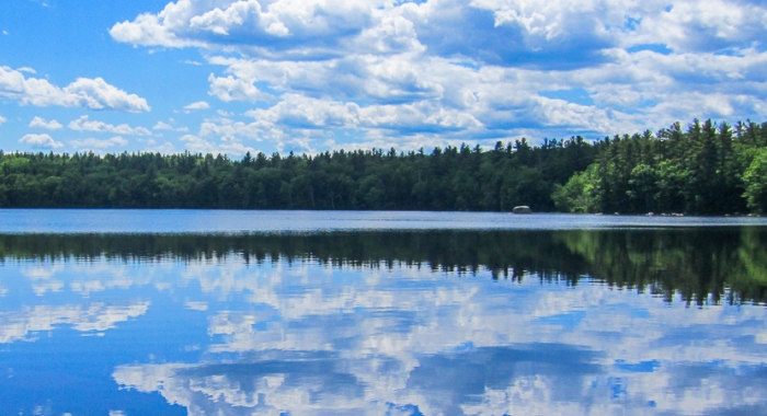 Tower Hill Pond in Auburn, New Hampshire