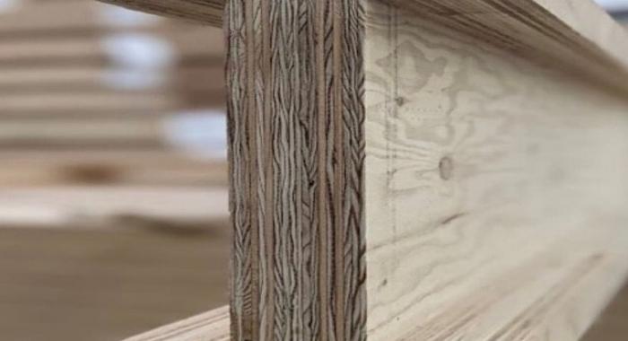 Cross Laminated Timber I beam