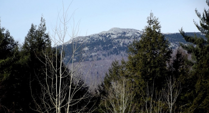 New Year's Day at Mount Monadnock by Tom Groleau