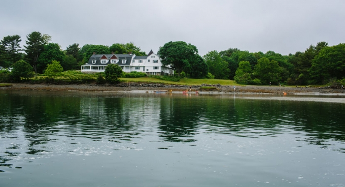 Creek Farm Reservation as seen from Sagamore Creek in Portsmouth, NH