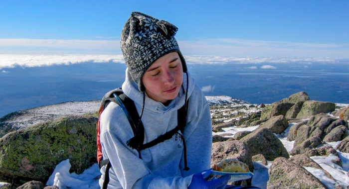 From her starting point at the Katahdin Stream Campground, Emily Lord gained 4,162 feet in just 5.3 miles when she tackled Maine's Mount Katahdin on her first hike. It took her a while to appreciate the accomplishment.