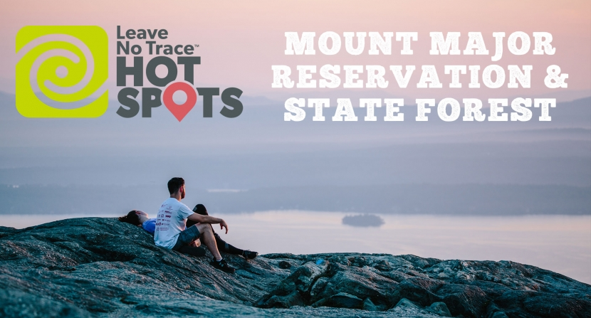 Mt Major Reservation and State Forest is a part of the Leave No Trace Hotspot Program