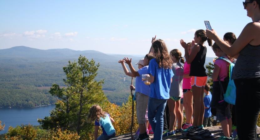Mount Major outdoor classroom