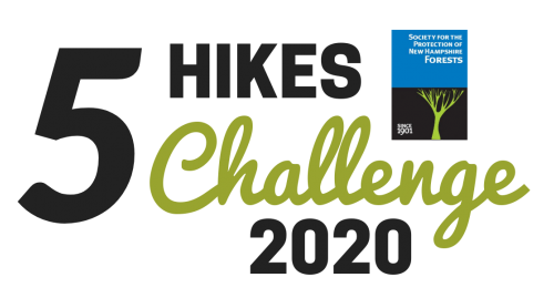 Five Hikes Challenge logo