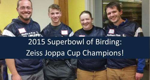 Northern Flea Flickers - Superbowl of Birding Champions 2015