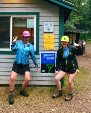 Summer interns at Monadnock Trails Week