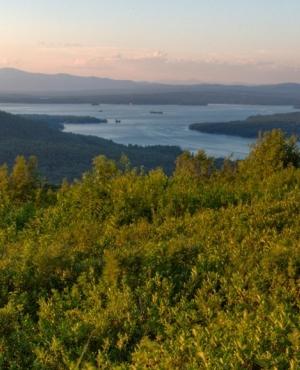 Morse Preserve overlooking Lake Winnipesaukee by Jerry Monkman/Ecophotography
