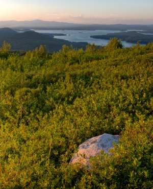 Morse Preserve overlooking Lake Winnipesaukee by Jerry Monkman/Ecophotography