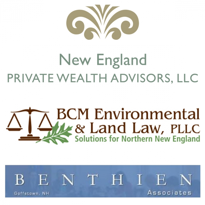 Sponsored by New England Private Wealth Advisors, BCM Environmental and Land Law, Benthien Associates
