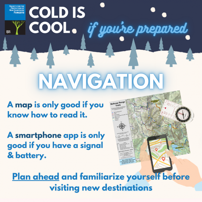 A graphic illustration of using navigation tools.