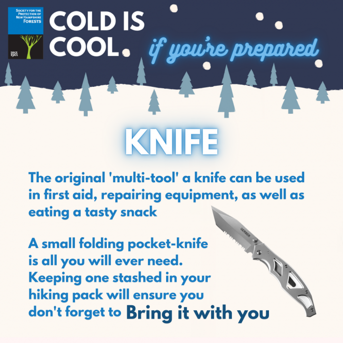 A graphic of a knife.