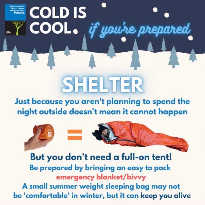A graphic of shelter, i.e. a tent or bivvy.