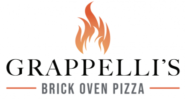 The logo of Grappellis Pizza.