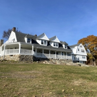 A view of the renovated Carey Cottage after the completion of the project in November 2020.