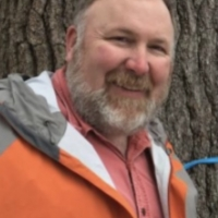 Forester AJ Dupere. (Courtesy of Urban Forestry Center)