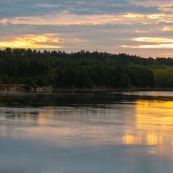 Merrimack River in Concord, New Hampshire